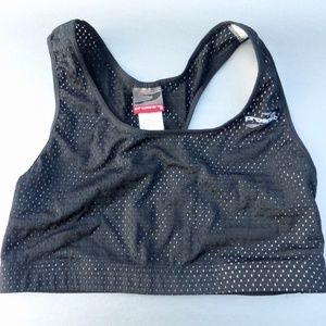 Pro Spirit Black Sports Bra Medium Gym Yoga Wear
